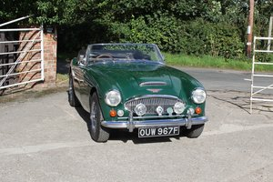 1967 Austin Healey 3000 Ex Victor Gauntlett C/O Aston Martin For Sale