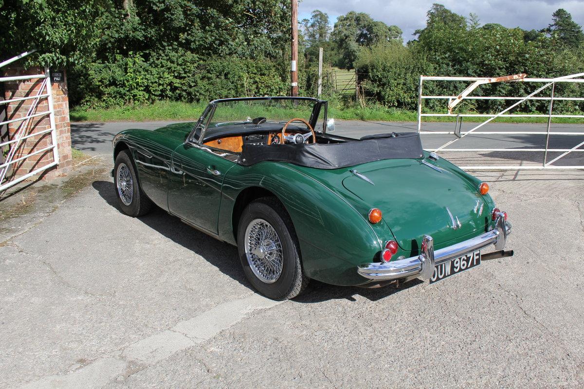 1967 Austin Healey 3000 MK3 Ex Victor Gauntlett C/O Aston Martin For Sale (picture 4 of 18)