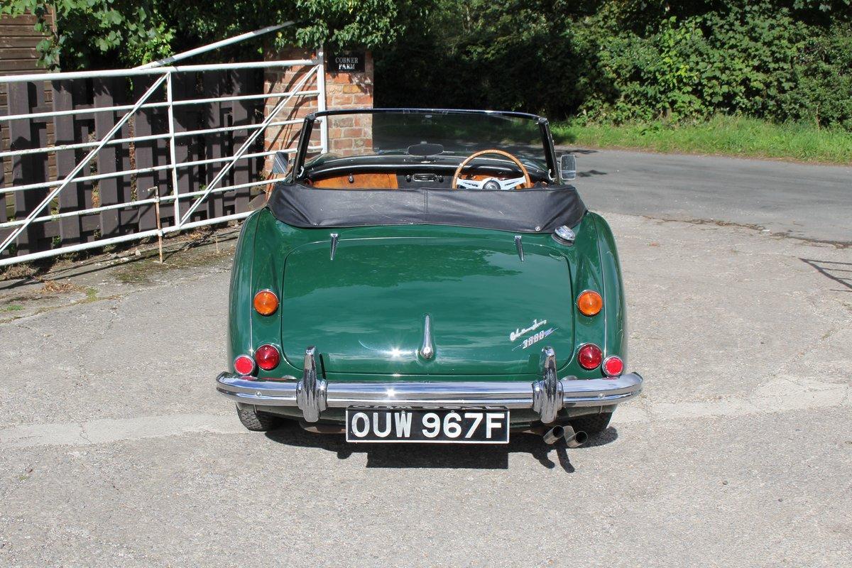1967 Austin Healey 3000 MK3 Ex Victor Gauntlett C/O Aston Martin For Sale (picture 5 of 18)