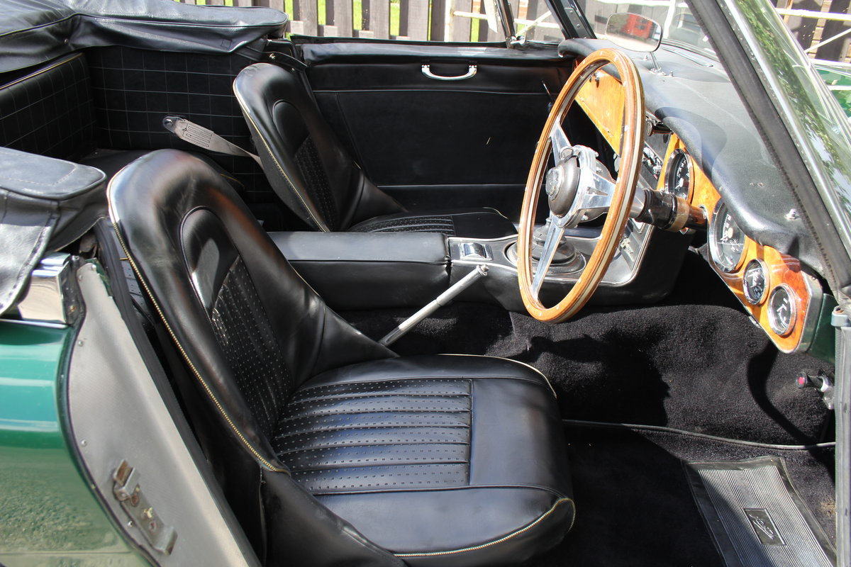 1967 Austin Healey 3000 MK3 Ex Victor Gauntlett C/O Aston Martin For Sale (picture 8 of 18)