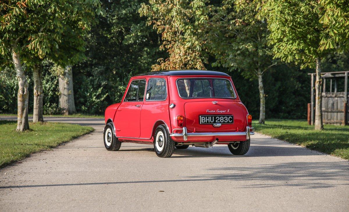 1964 Mini Cooper S MK1 For Sale (picture 2 of 24)