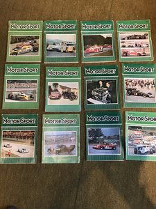 Picture of Collectors car &commercial manuals, magazines etc