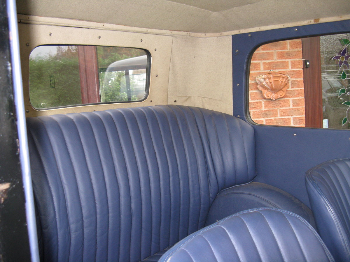 1933 Austin 7 RP Saloon with sunroof For Sale (picture 3 of 6)