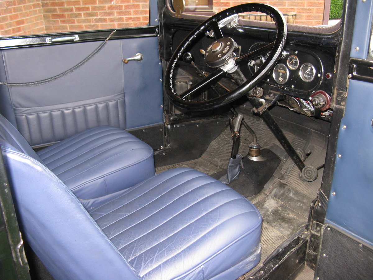 1933 Austin 7 RP Saloon with sunroof For Sale (picture 4 of 6)