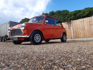 1971 Mini cooper s mk3      Nut and bolt restoration