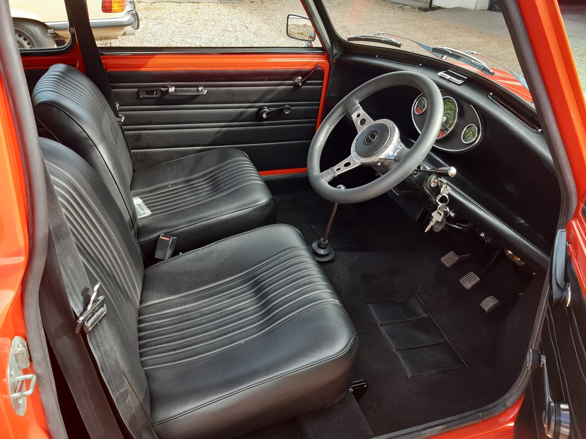 1971 mini cooper s mk3  Nut and bolt restoration For Sale (picture 2 of 6)