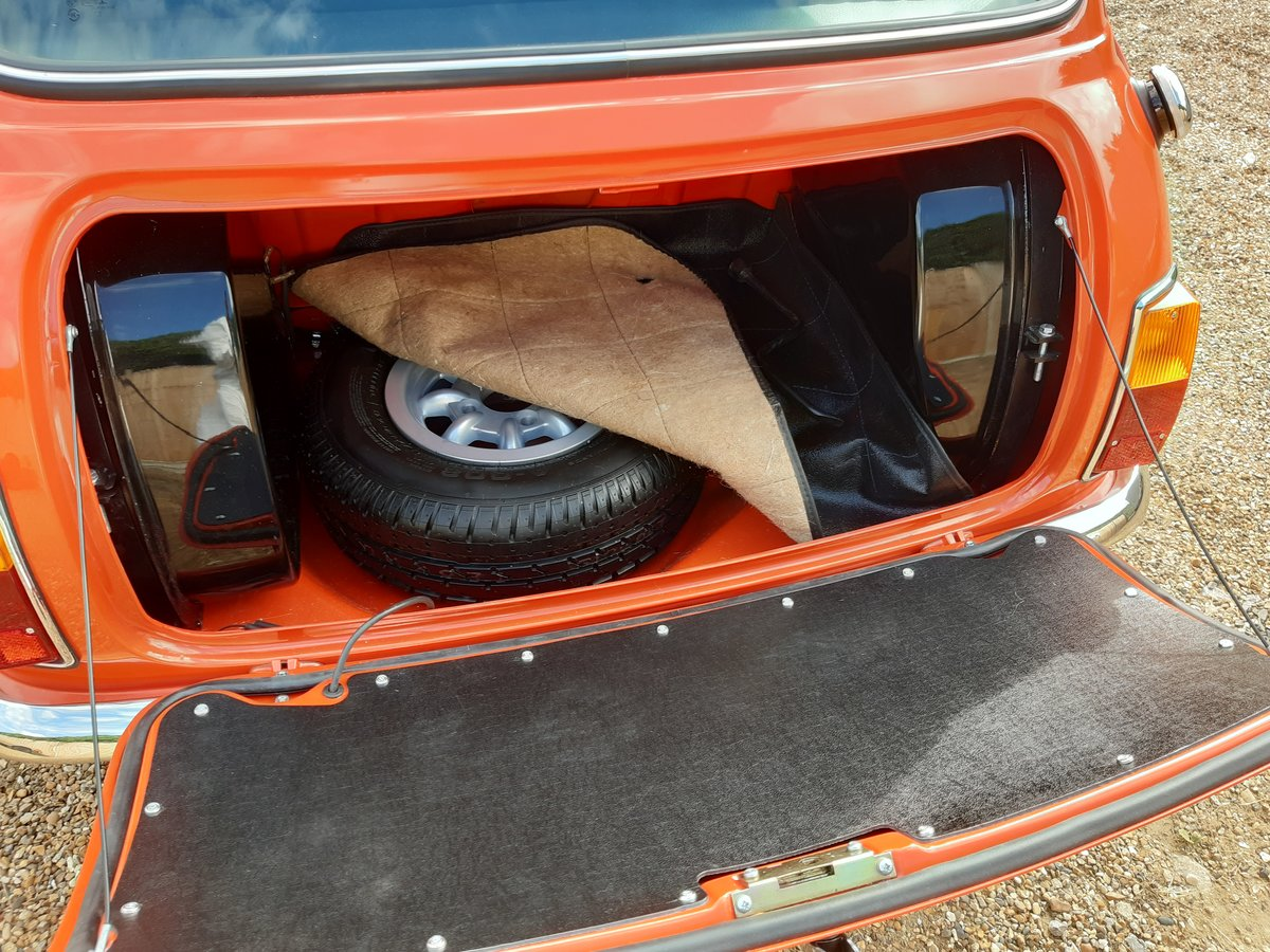 1971 mini cooper s mk3  Nut and bolt restoration For Sale (picture 3 of 6)