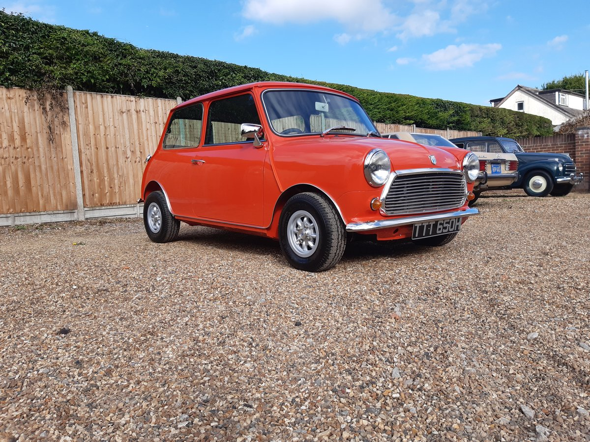 1971 mini cooper s mk3  Nut and bolt restoration For Sale (picture 5 of 6)