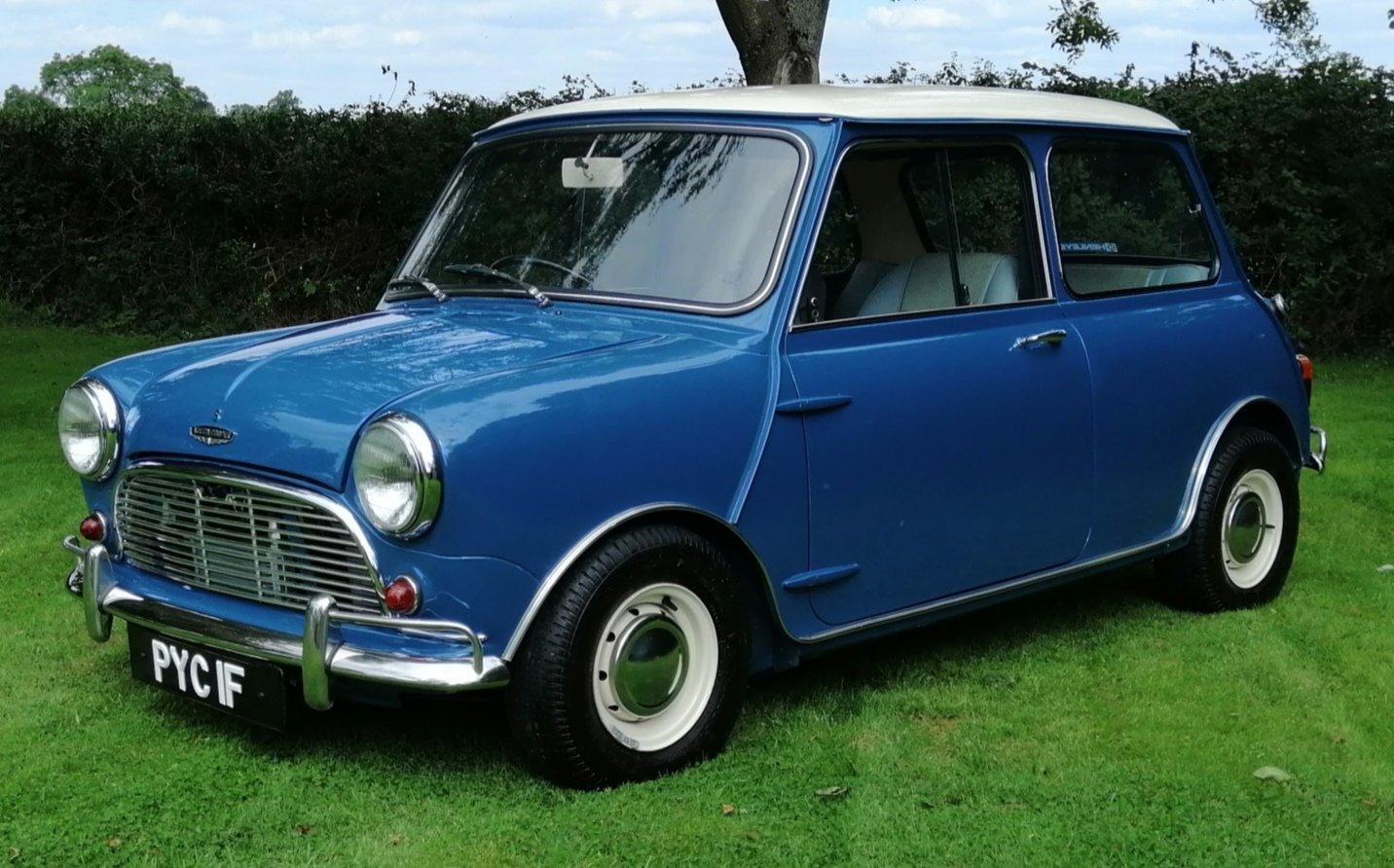 1967 Austin mini cooper s mk1 1275cc For Sale (picture 1 of 6)