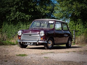 Picture of 1968 Austin Mini 1000 Super De Luxe for auction 29th-30th October