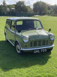 Austin mini van full restoration