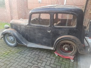 Austin Ruby Barn find for restoration
