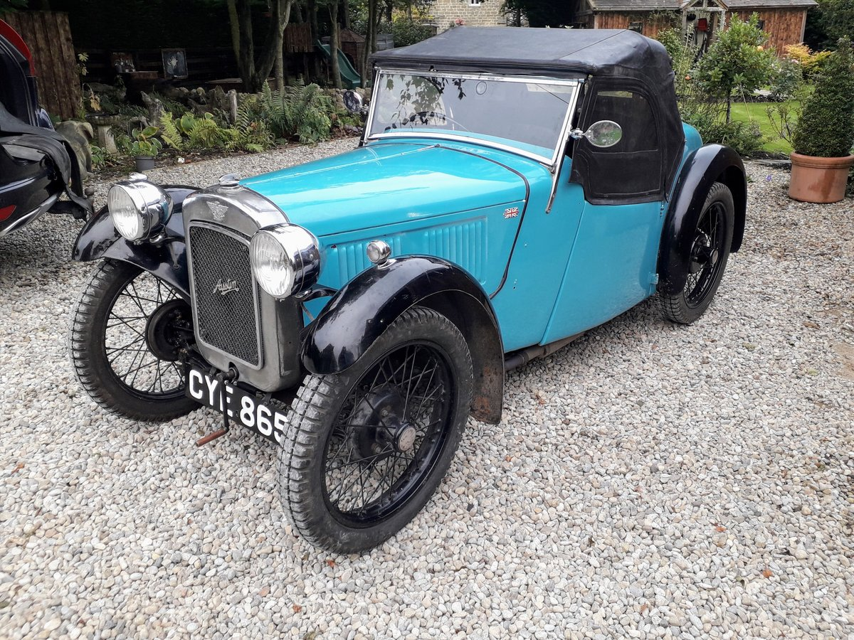 1936 Austin Seven Nippy Sports For Sale (picture 1 of 4)