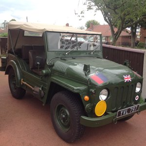Picture of 1952 Austin Champ ex RAF