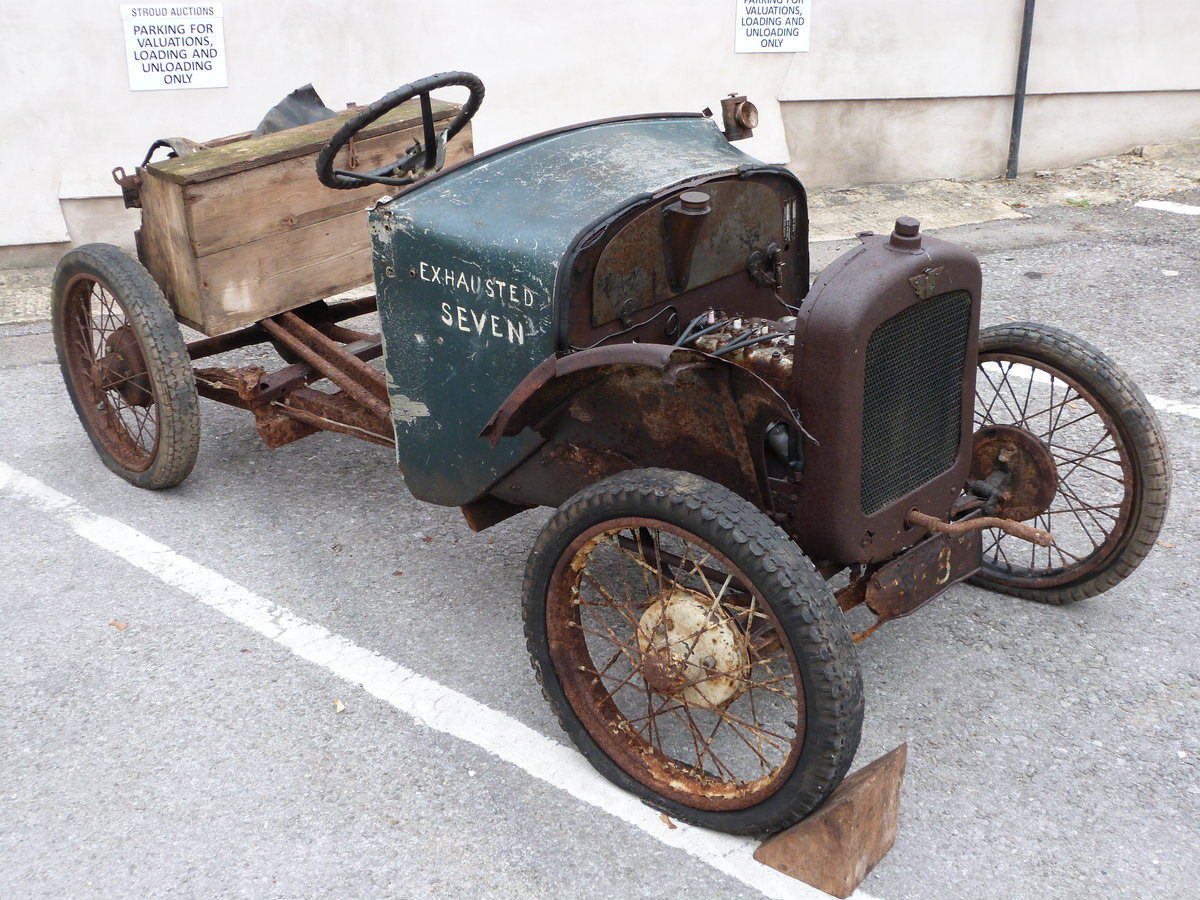 1927 Austin Seven Chummy project SOLD by Auction (picture 1 of 6)