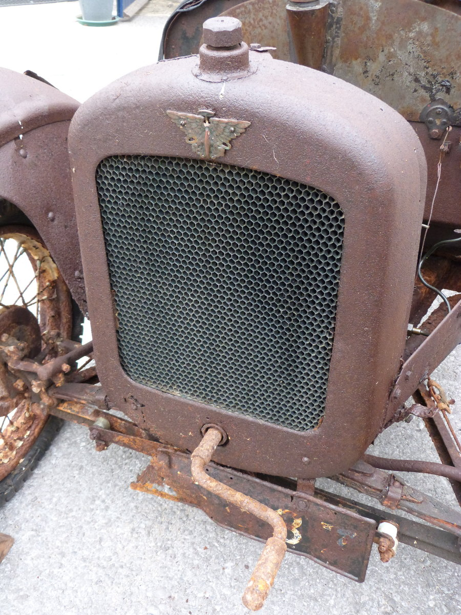 1927 Austin Seven Chummy project SOLD by Auction (picture 4 of 6)