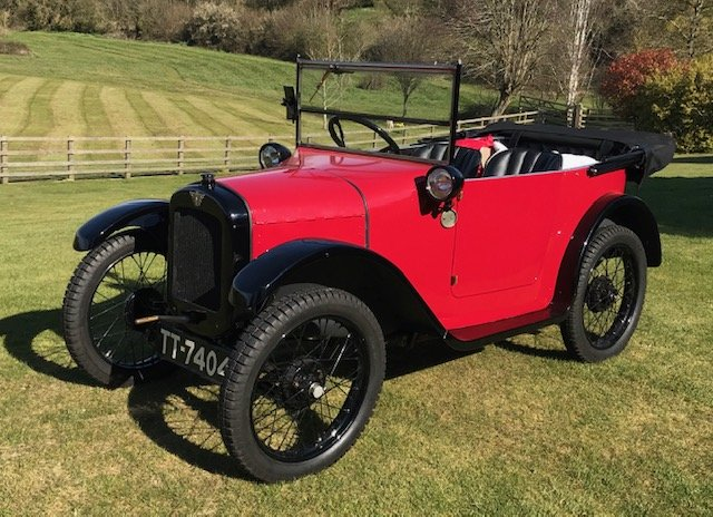 1925 Austin Seven 'Pram-hood' Chummy - Best Available For Sale (picture 7 of 19)
