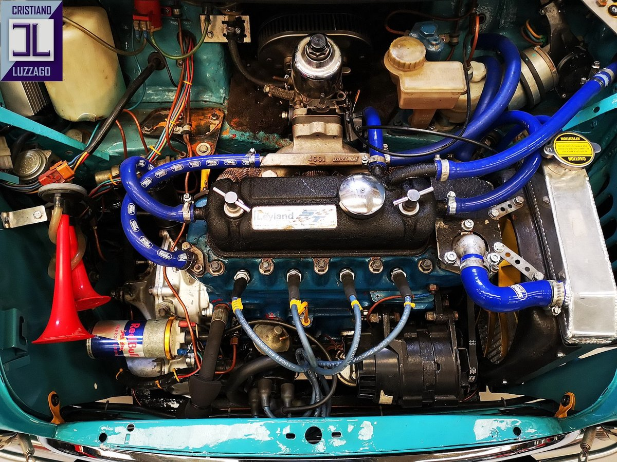 1967 AUSTIN MINI COOPER SPECIAL RACING EURO 29.800 For Sale (picture 4 of 6)