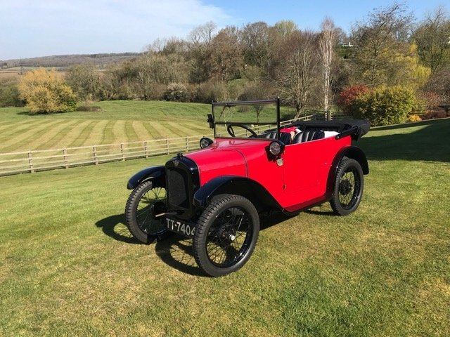 1925 Austin Seven 'Pram-hood' Chummy - Best Available For Sale (picture 15 of 19)