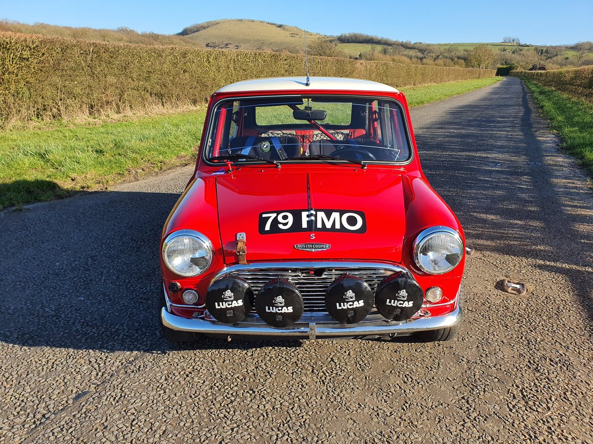 1964 Austin Mini Cooper S Paddy Hopkirk Recreation For Sale (picture 1 of 6)
