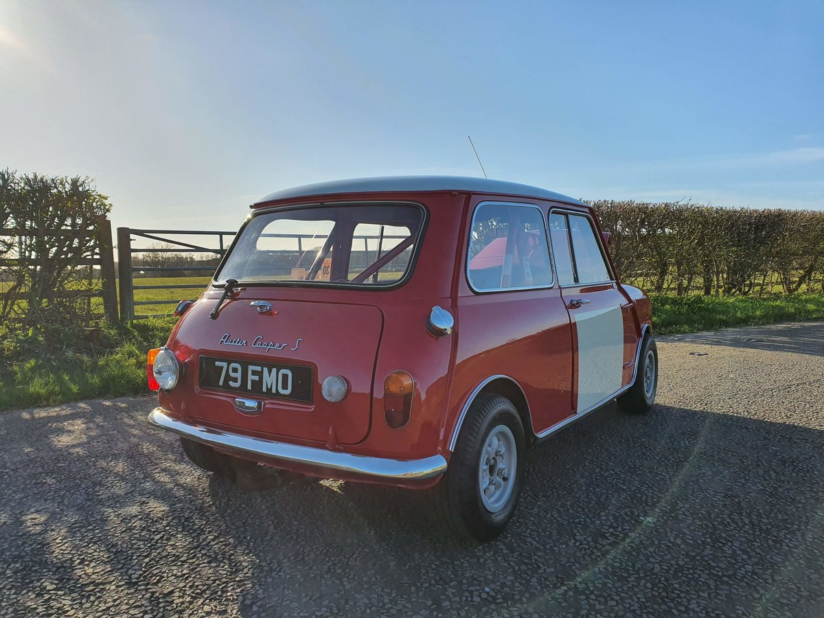 1964 Austin Mini Cooper S Paddy Hopkirk Recreation For Sale (picture 3 of 6)