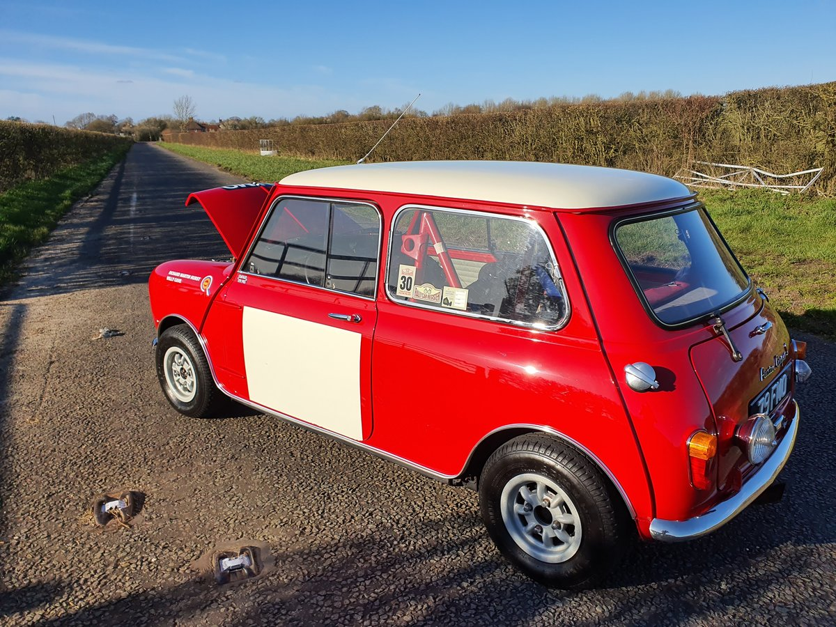 1964 Austin Mini Cooper S Paddy Hopkirk Recreation For Sale (picture 5 of 6)