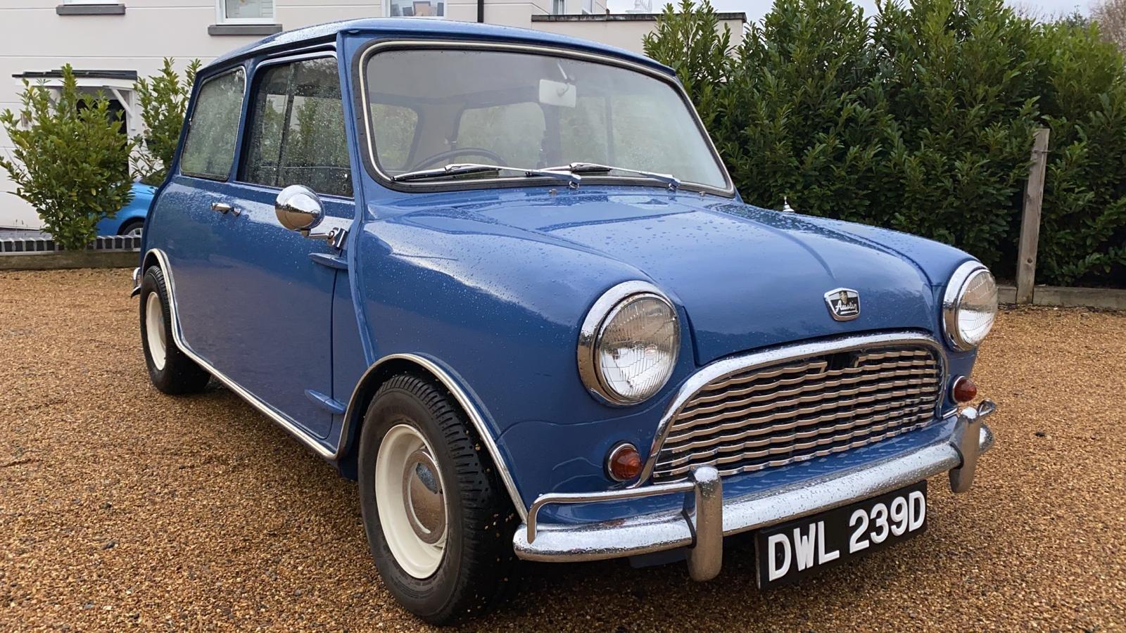 1966 MK1 Austin Mini For Sale (picture 1 of 6)