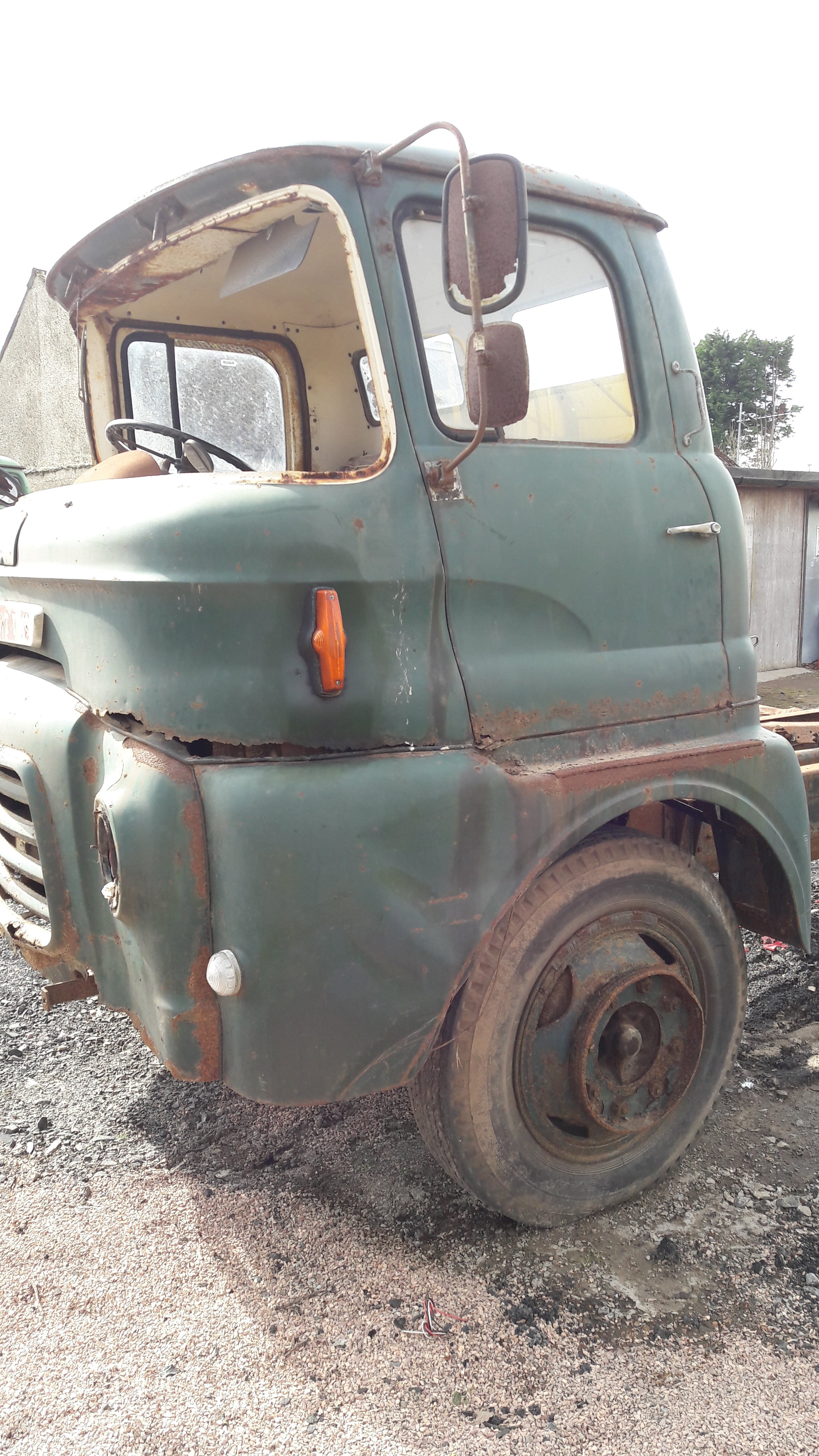1960 austin 5 ton ffk for restoration For Sale (picture 3 of 3)