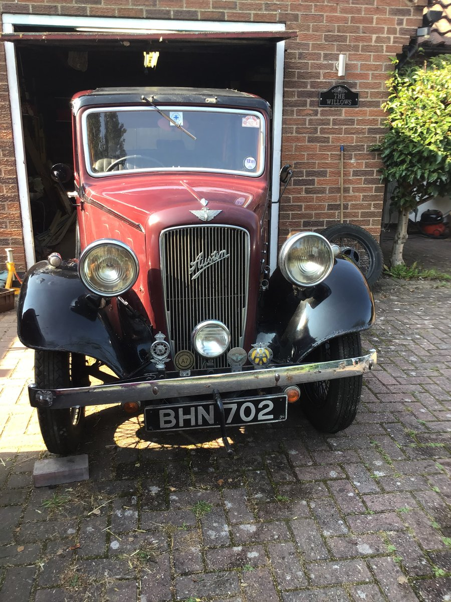 1936 Austin Sherborne Investment Project SOLD (picture 2 of 3)