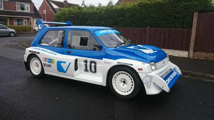 1981 MG METRO 6R4 rep SOLD (picture 1 of 6)