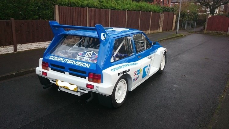 1981 MG METRO 6R4 rep SOLD (picture 3 of 6)