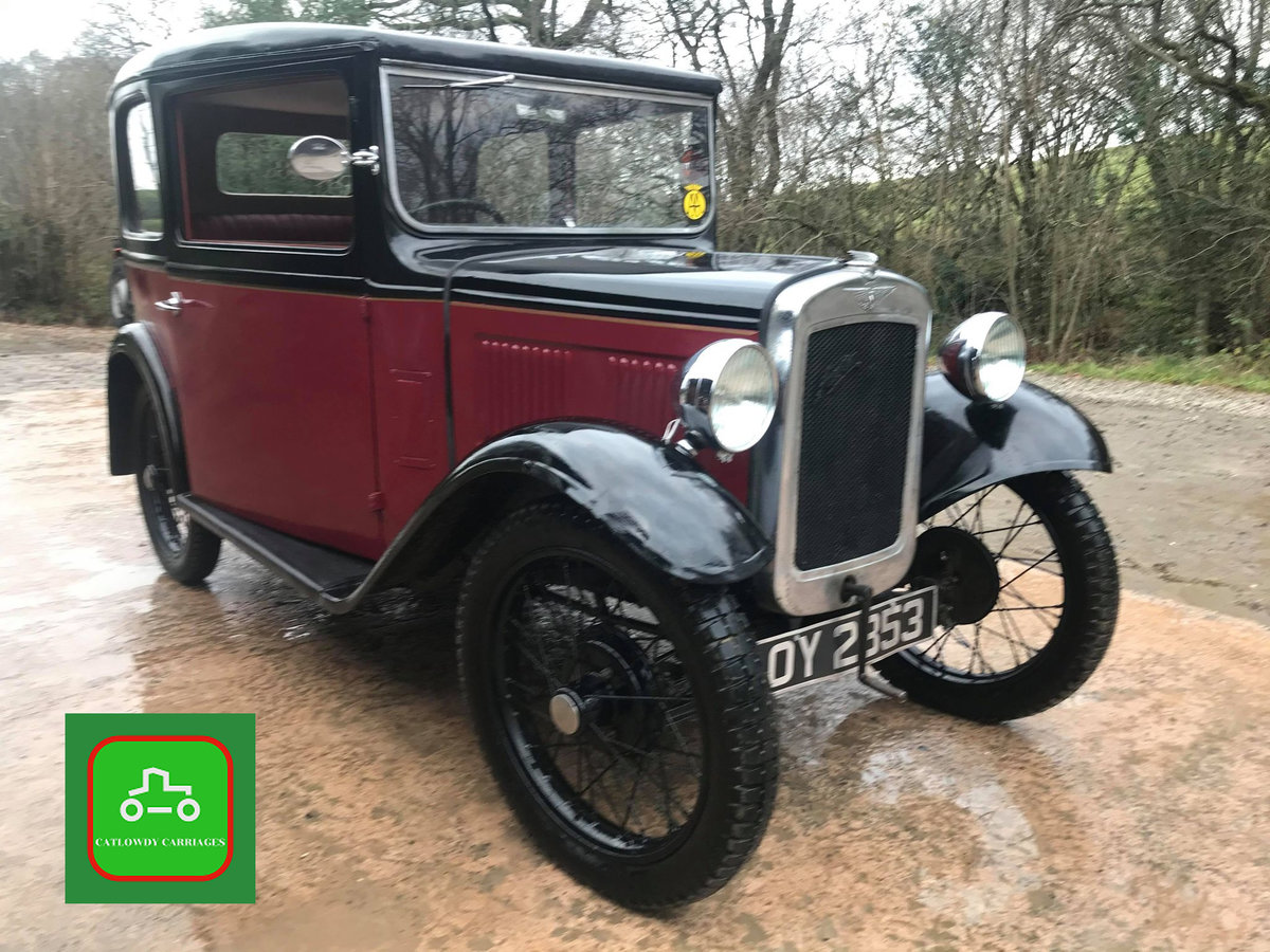 1932 AUSTIN 7 ALL HARD WORK DONE DRIVE AWAY & ENJOY SEE VIDEO SOLD (picture 1 of 6)