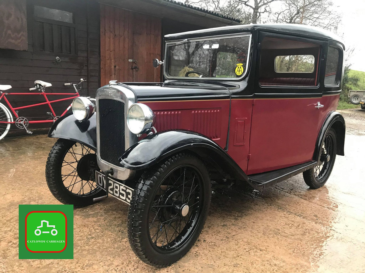 1932 AUSTIN 7 ALL HARD WORK DONE DRIVE AWAY & ENJOY SEE VIDEO SOLD (picture 2 of 6)