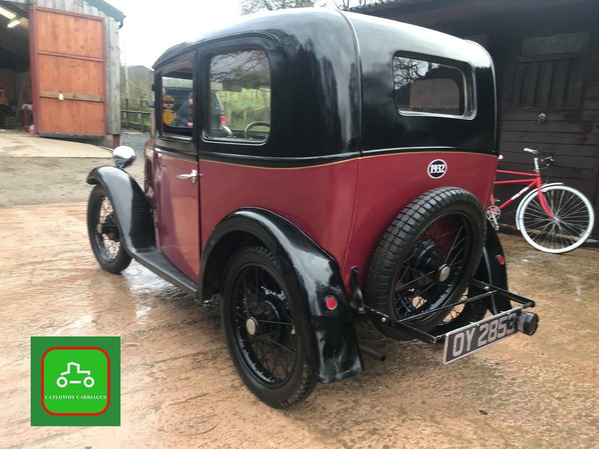 1932 AUSTIN 7 ALL HARD WORK DONE DRIVE AWAY & ENJOY SEE VIDEO SOLD (picture 3 of 6)