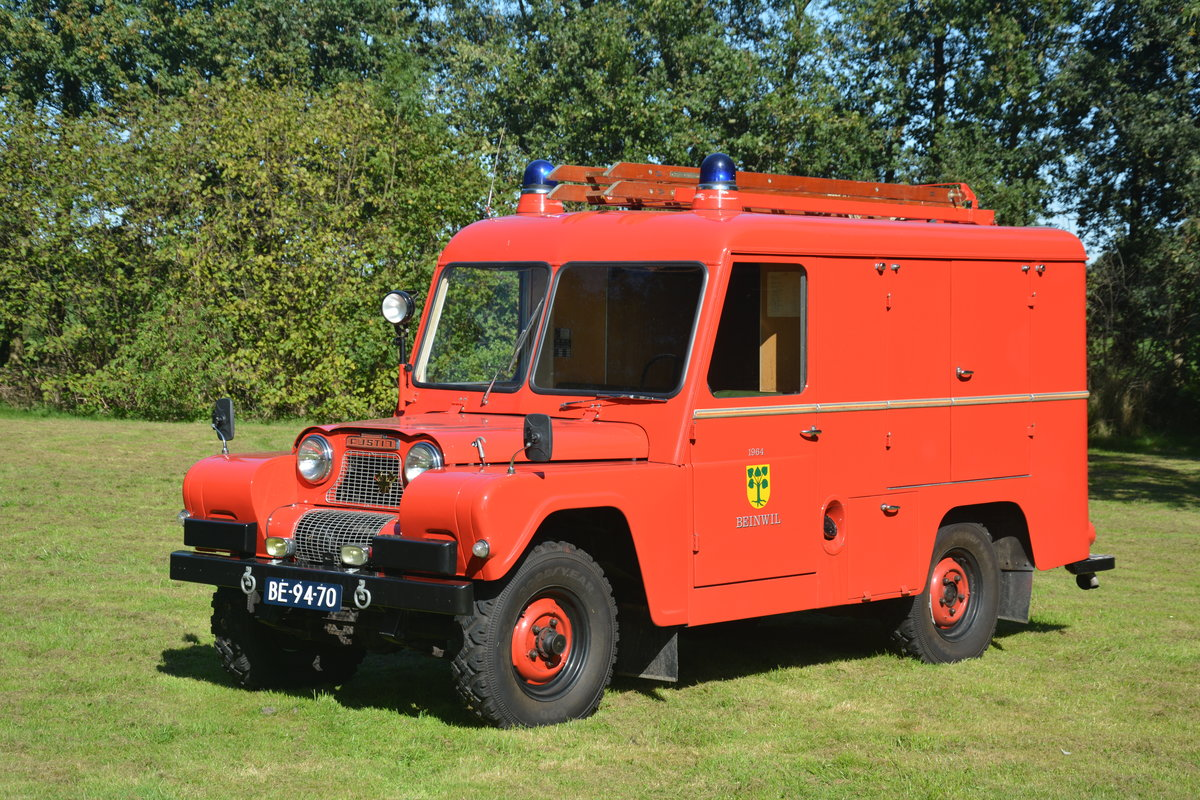 1964 Austin Gipsy Fire Appliance For Sale (picture 2 of 5)