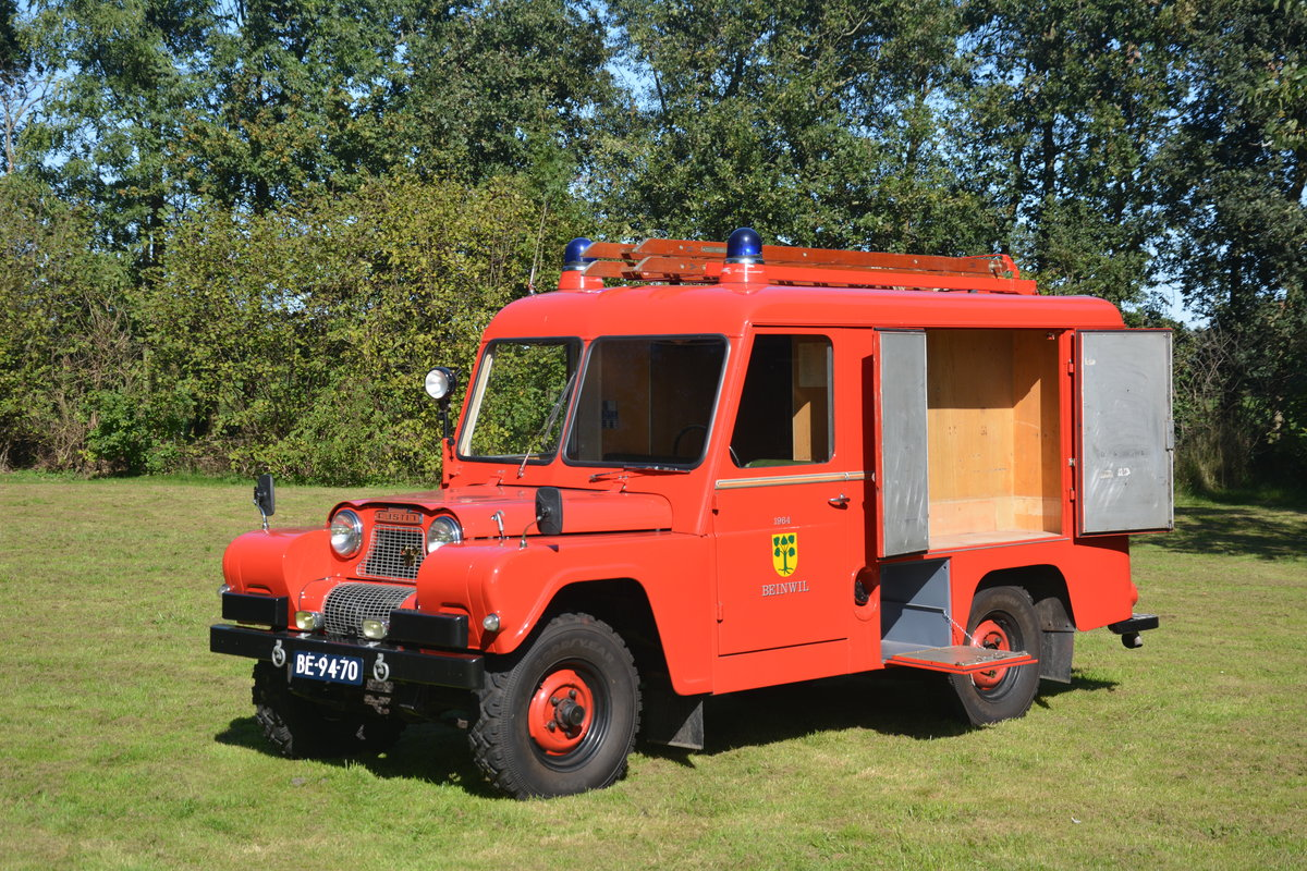 1964 Austin Gipsy Fire Appliance For Sale (picture 3 of 5)