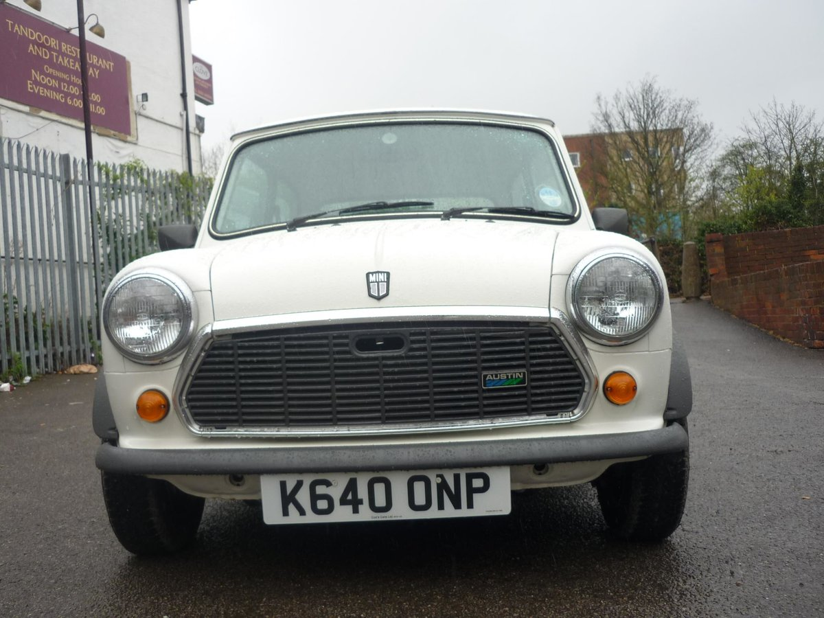 1992 Austin Mini Advantage only 201 Miles For Sale (picture 2 of 6)