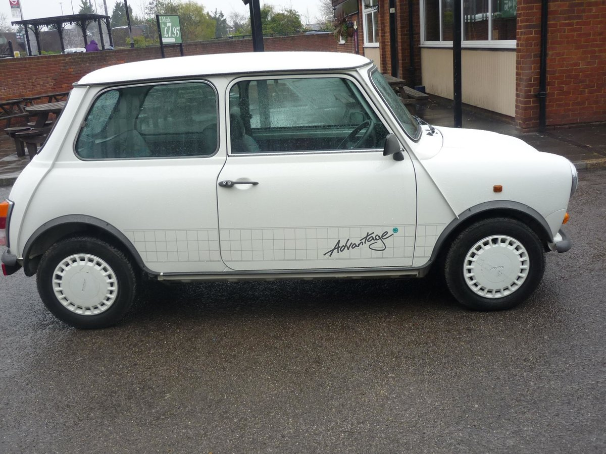 1992 Austin Mini Advantage only 201 Miles For Sale (picture 3 of 6)