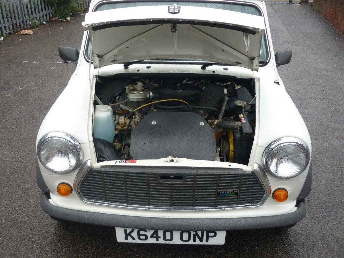 1992 Austin Mini Advantage only 201 Miles For Sale (picture 6 of 6)
