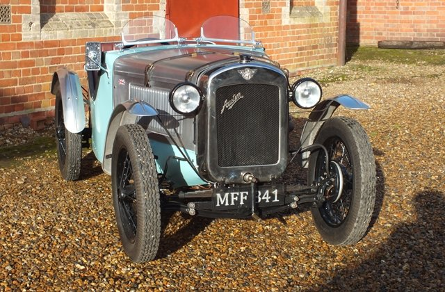 1934 A very good Ulster replica with lots of A7 performance bits! For Sale (picture 1 of 8)