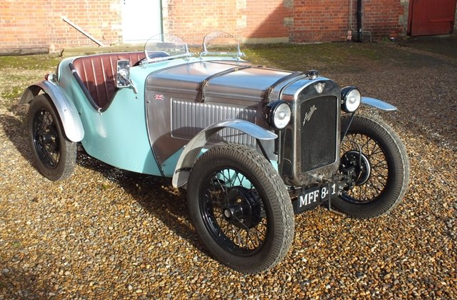1934 A very good Ulster replica with lots of A7 performance bits! For Sale (picture 2 of 8)