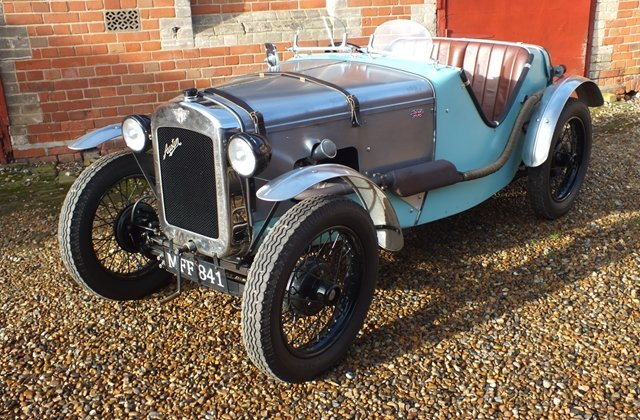 1934 A very good Ulster replica with lots of A7 performance bits! For Sale (picture 3 of 8)