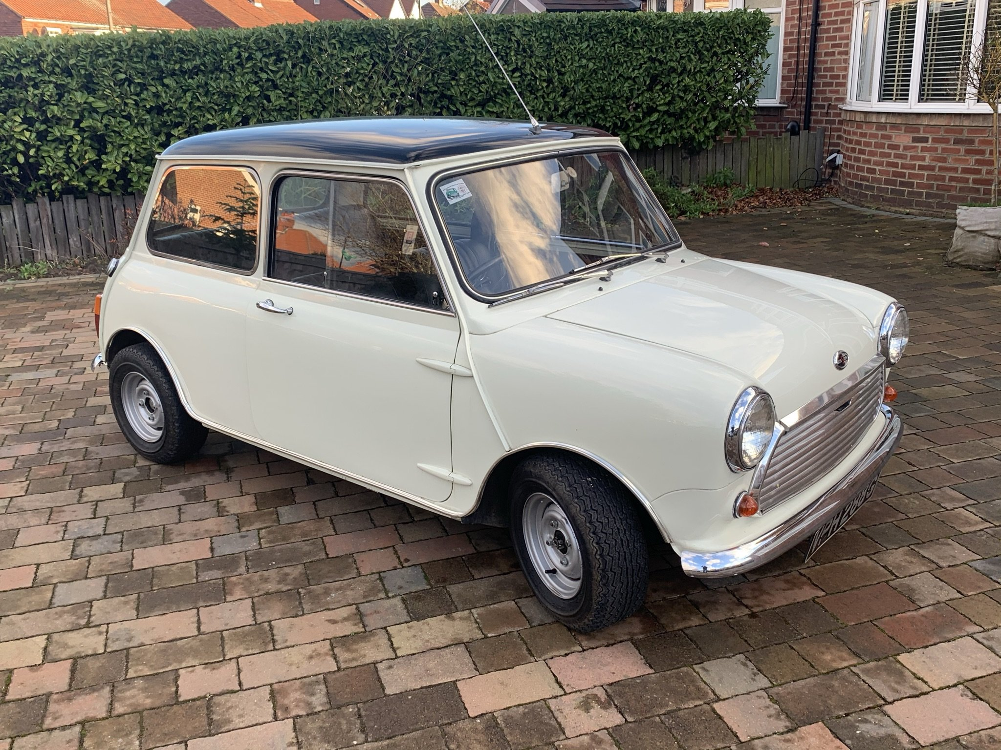 1968 MK 2 Cooper S 1275cc Genuine Heritage Certificated car.