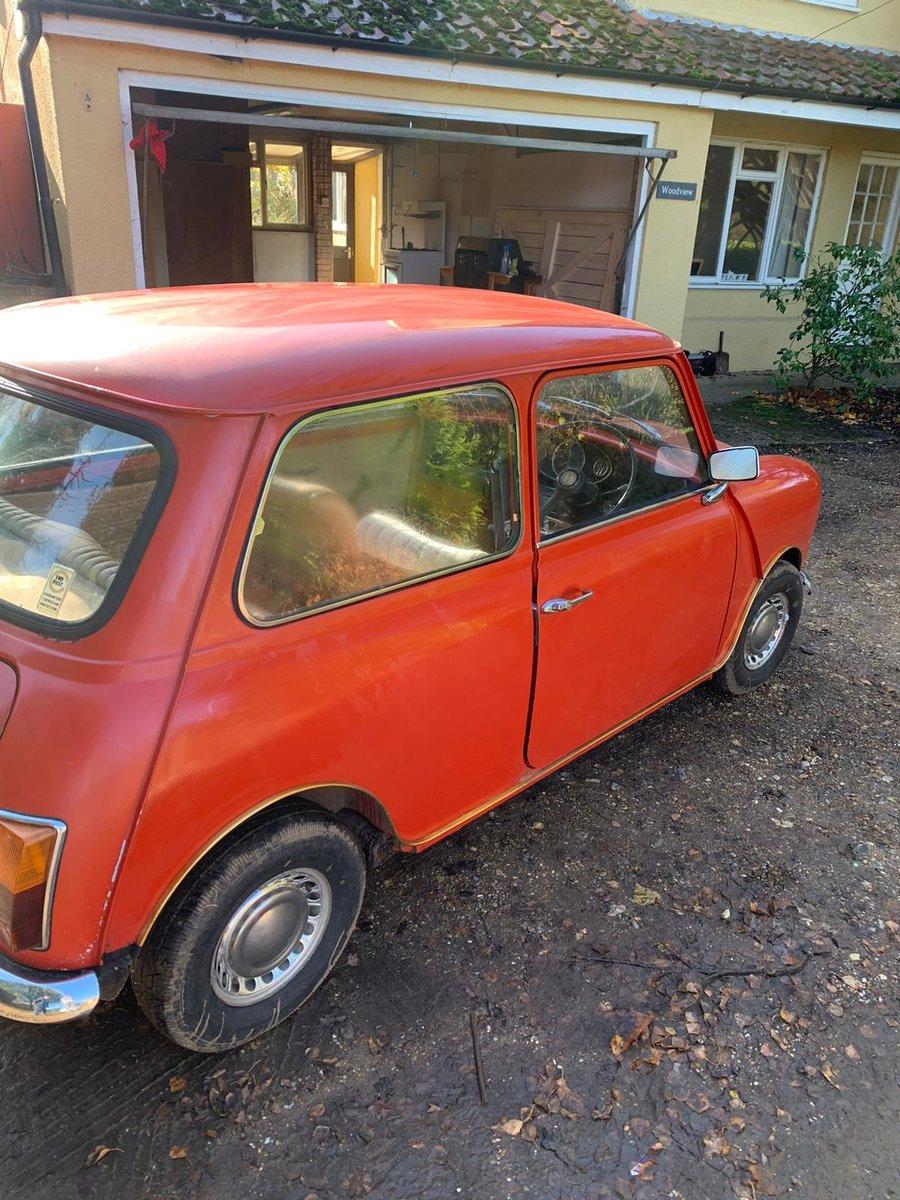 1975 Original Mini 1000 For Sale (picture 6 of 10)