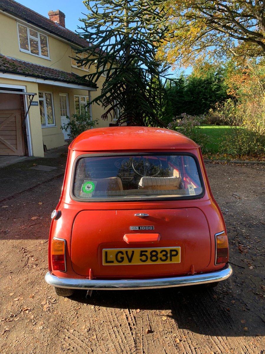 1975 Original Mini 1000 For Sale (picture 7 of 10)