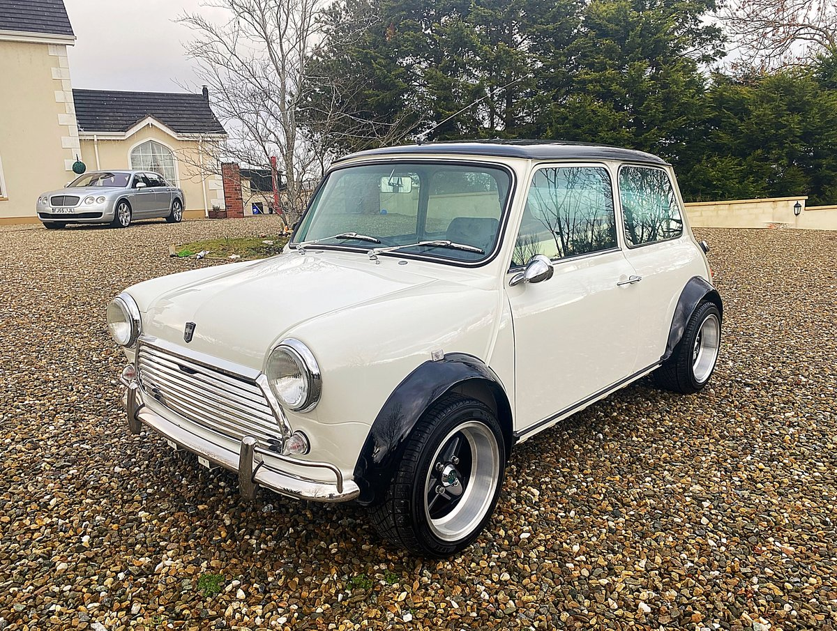 1971 AUSTIN MINI SUPERB SPEC 1380 FAST ROAD SPEC IMMACULATE - PX For Sale (picture 4 of 11)