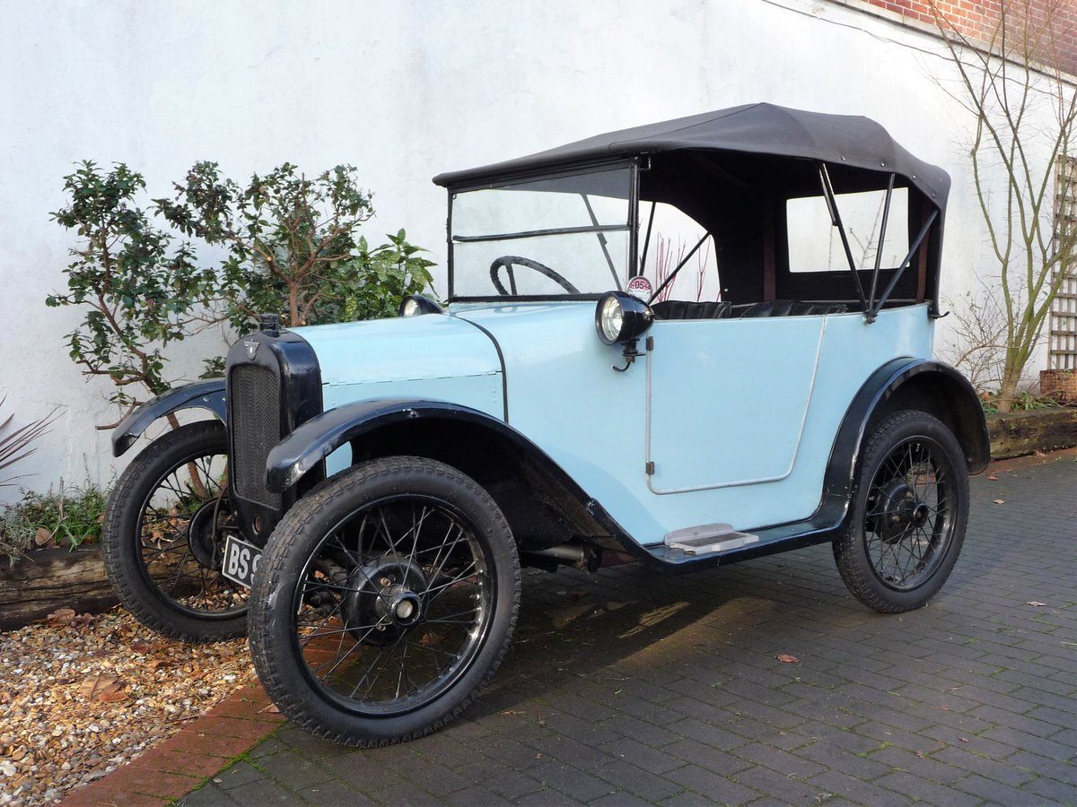 1924 Austin Seven 'Pram Hood' Chummy For Sale by Auction (picture 1 of 24)