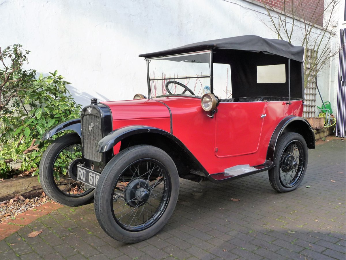 1927 Austin Seven Chummy For Sale by Auction (picture 1 of 22)