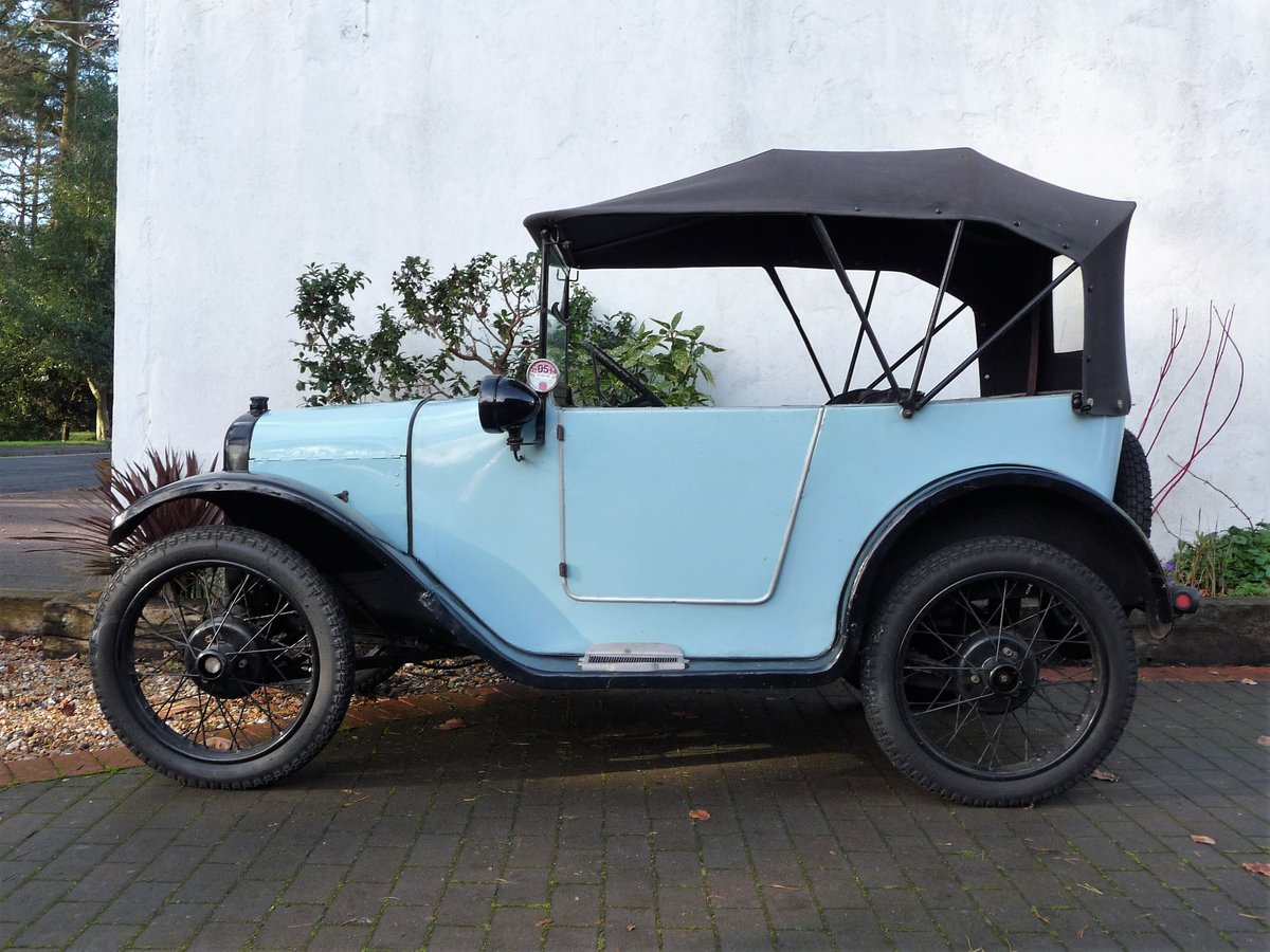 1924 Austin Seven 'Pram Hood' Chummy For Sale by Auction (picture 2 of 24)