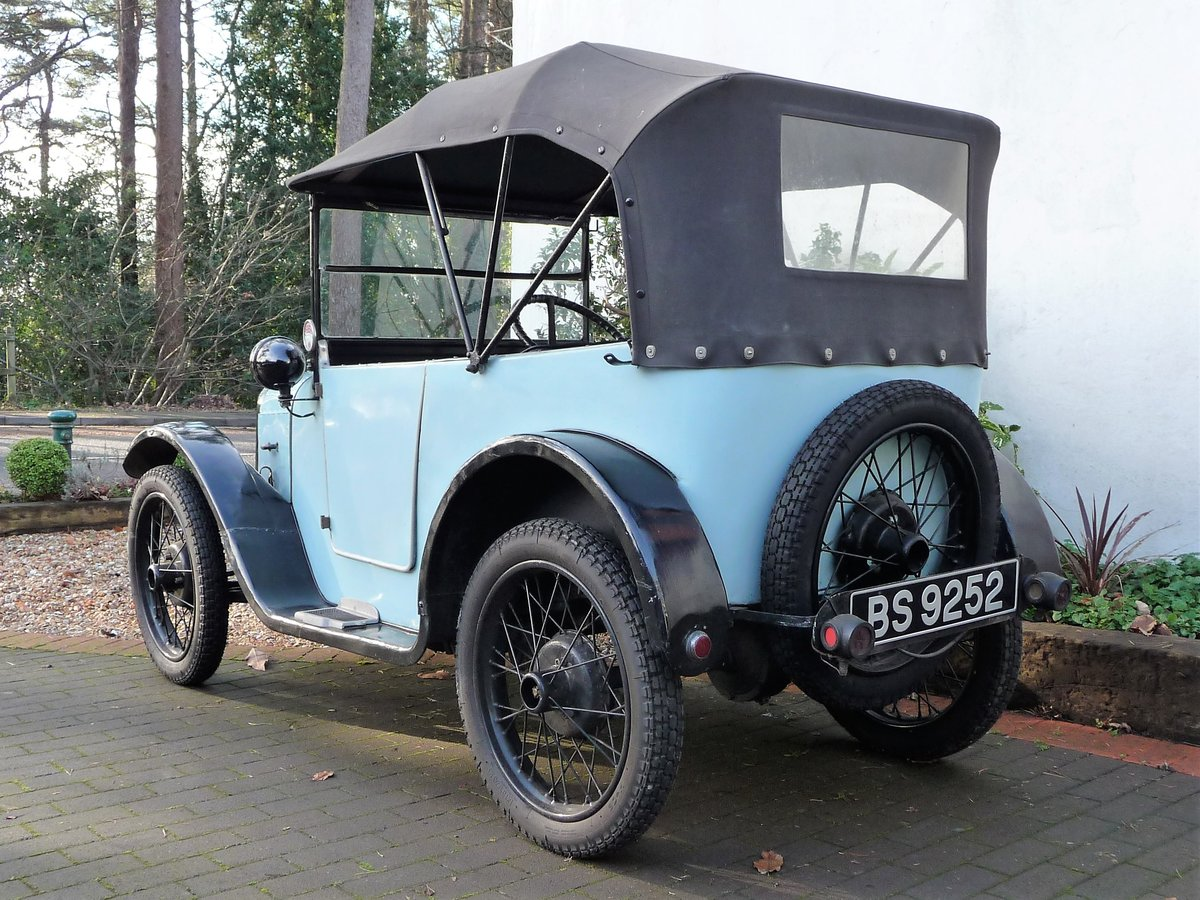 1924 Austin Seven 'Pram Hood' Chummy For Sale by Auction (picture 3 of 24)